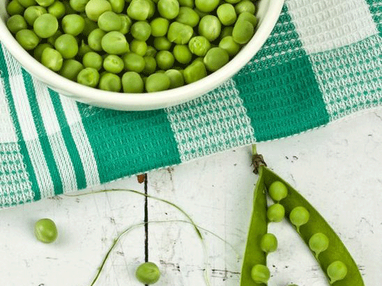 Hey Presto… It's green pea pesto